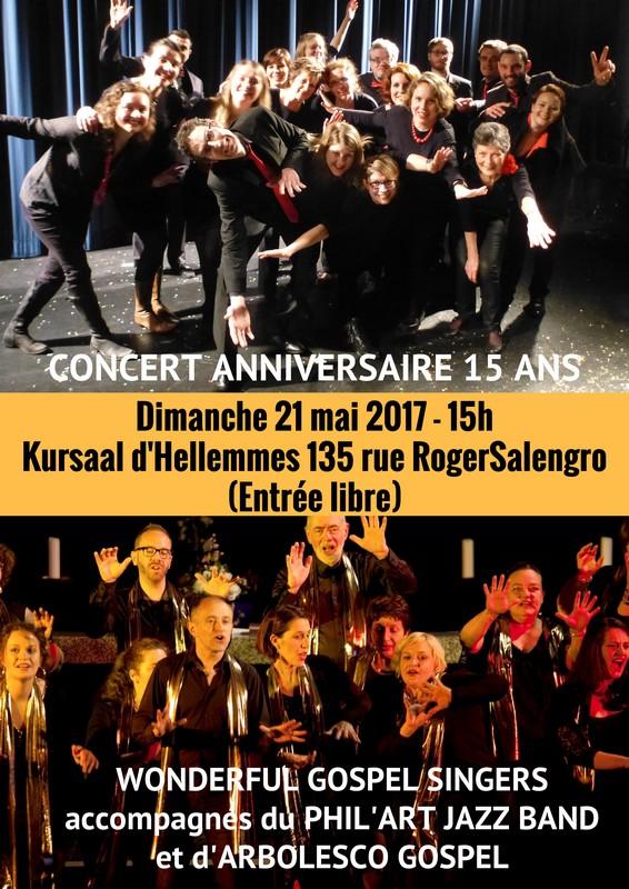 Concert au Kursaal d'Hellemmes avec les WGS
