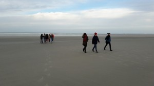 photo Berck choriste sur plage