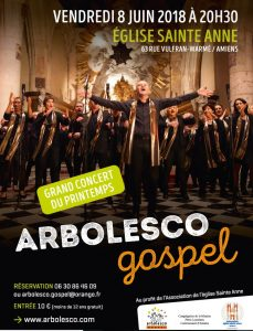 Concert Gospel @ Eglise Saint Sépulcre à MONTDIDIER