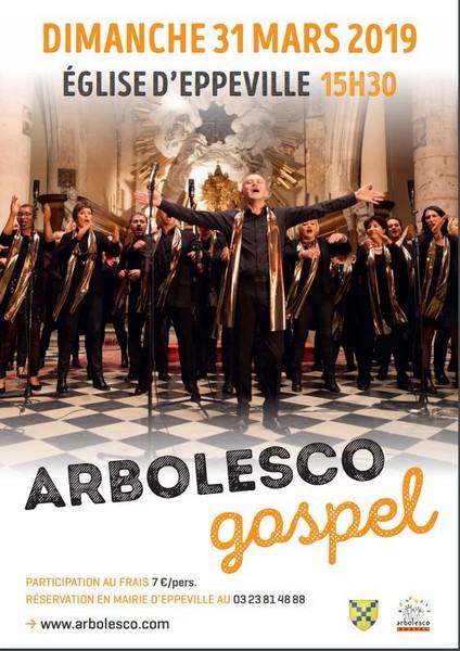 Concert gospel (avec musiciens) à EPPEVILLE