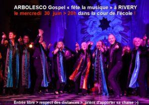 Concert Gospel à CANDAS @ église